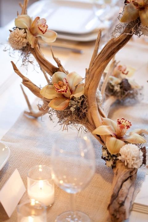 Ways To Use Antlers for Your Wedding   HappyWedd.com