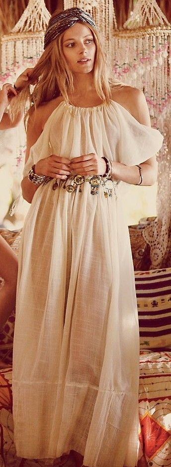 Boho goddess. What the heck, maybe I'll do this.