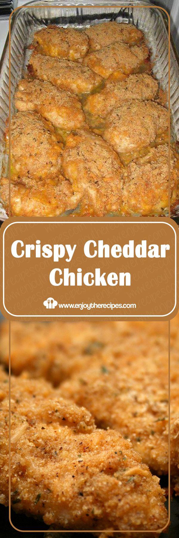 Crispy Cheddar Chicken – Enjoy The Recipes #crispycheddarchicken Crispy Cheddar …