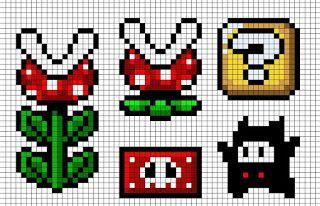 Meus Pontinhos (Ponto cruz e Gráficos): Mais Gráficos do Mário (Games)