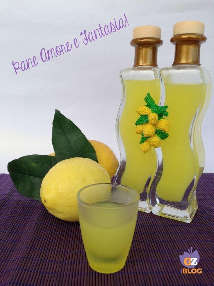 Il limoncello fatto in casa - la ricetta | Pane Amore e Fantasia!