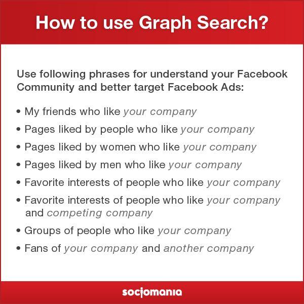 How to use Graph Search? #SocialTips #Facebook #FacebookAds
