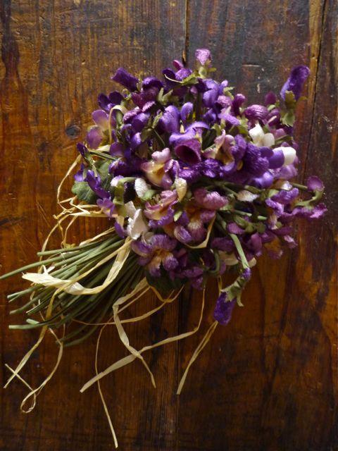 Spring Flower Bouquet〜*染め花のコサージュ*