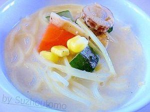 「鯛とベビーホタテの海鮮スープパスタ」今日は「母の日」なので少し手間を掛けて・・・味噌汁代わりにスープパスタです(^0^)/あっさりスープにホタテと鯛が美味しいんです。【楽天レシピ】