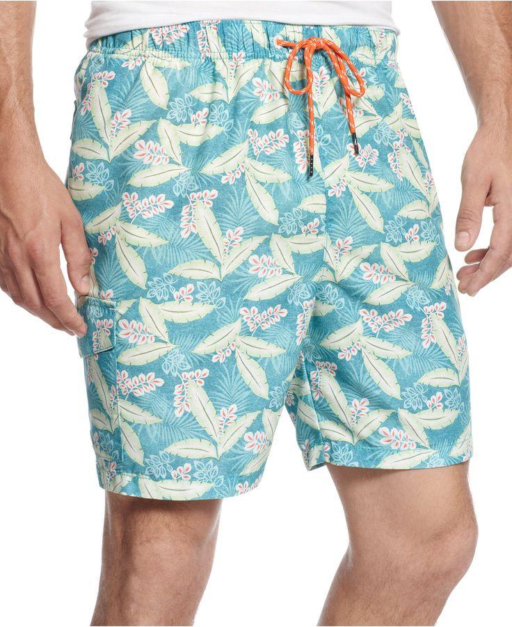 Tommy Bahama Naples Naturally Swim Trunks - Swimwear - Men - Macy's