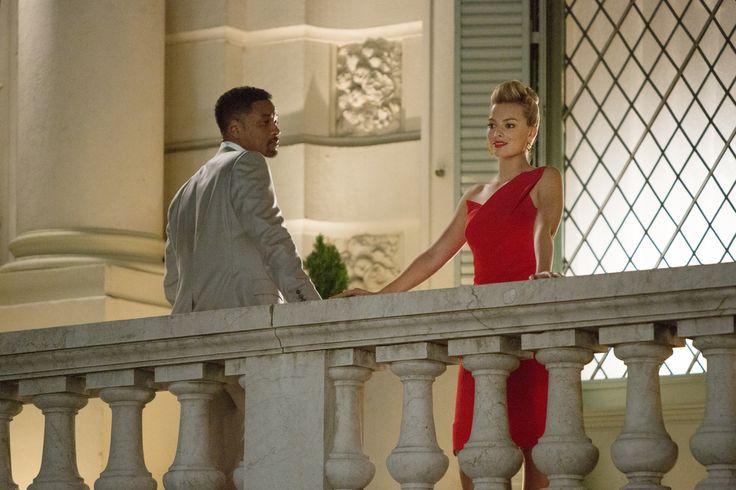 Margot Robbie y Will Smith, una sofisticada pareja de ladrones en #Focus.