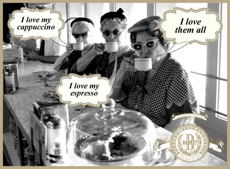 We love our coffee especially when it has the right ingredients: Friends + Coffee = A LOVE that lasts forever! #ilbarretto #vintage #cafe #coffeehouse #coffeeshop #CoffeeAndFriends #JoysOfLife #espresso #cappuccino #latte  http://www.ilbarretto.com/