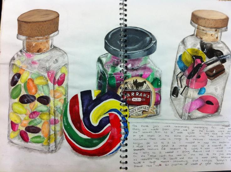 Jar drawing
