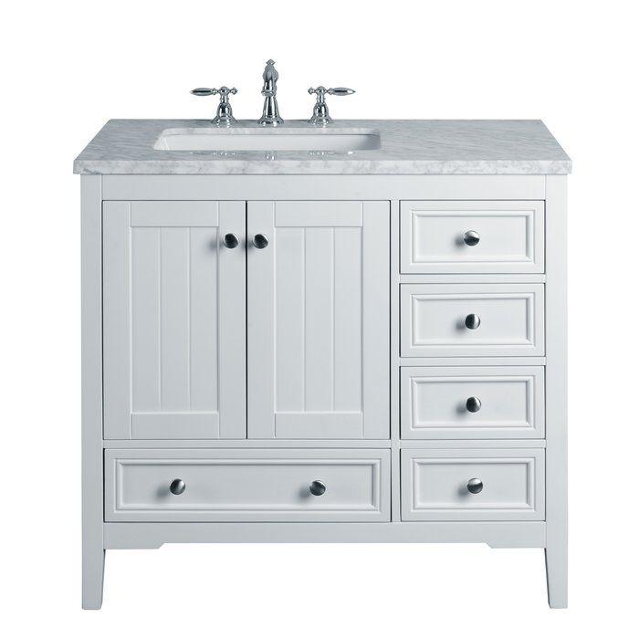 Murawski 36 Single Bathroom Vanity Set Single Sink Bathroom