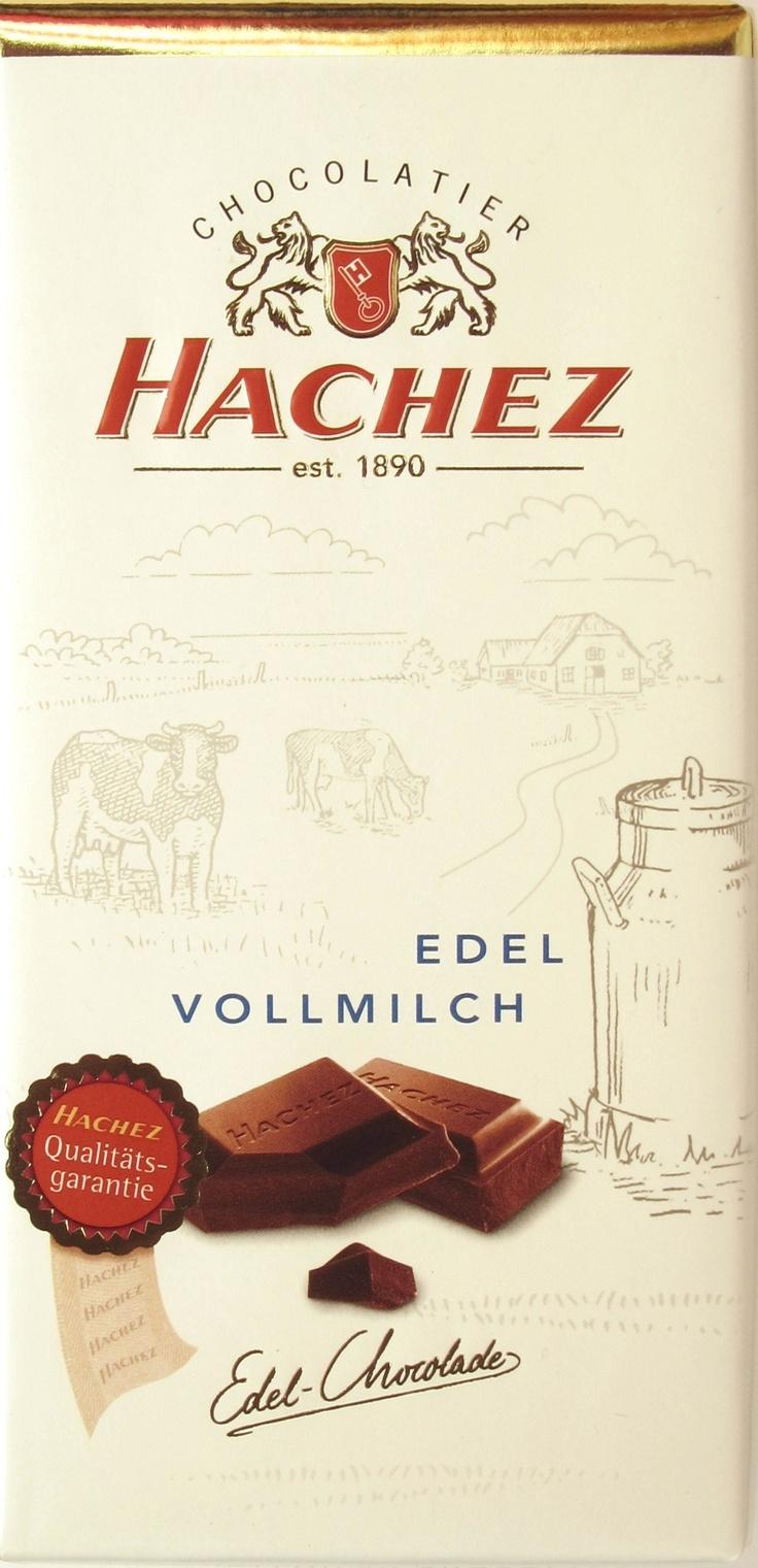 Hachez Edel-Vollmilch-Schokolade