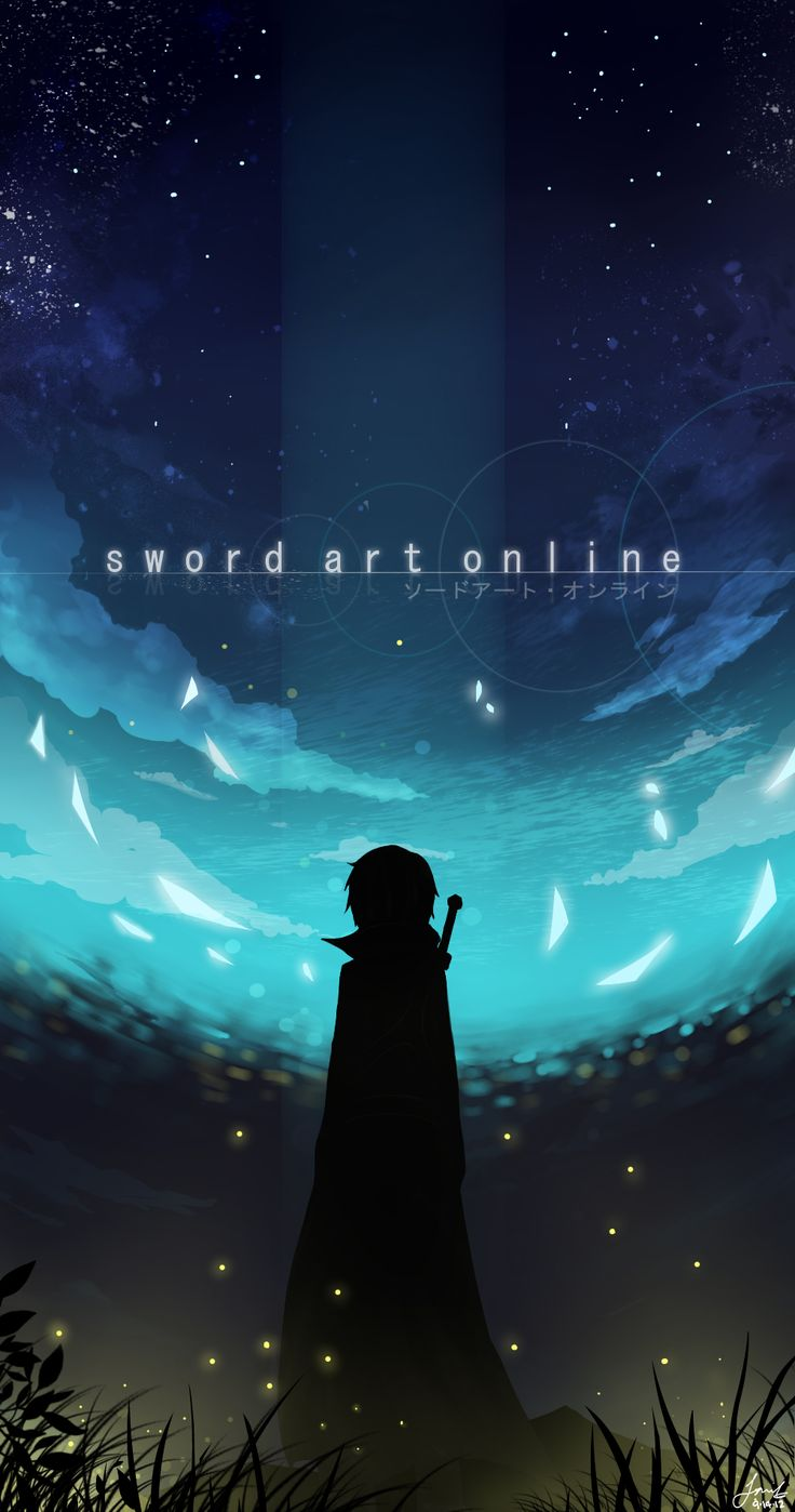 Tumblr iphone wallpaper anime - 217618 1000x1900 Sword Art Online Kirito Single Tall