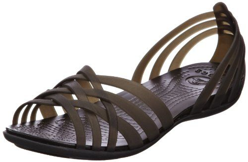 crocs Women's 14121 Huarache Flat,Black/Black,7 M US crocs http://smile.amazon.com/dp/B008KZE9V8/ref=cm_sw_r_pi_dp_-Fsiwb0E5FWHH