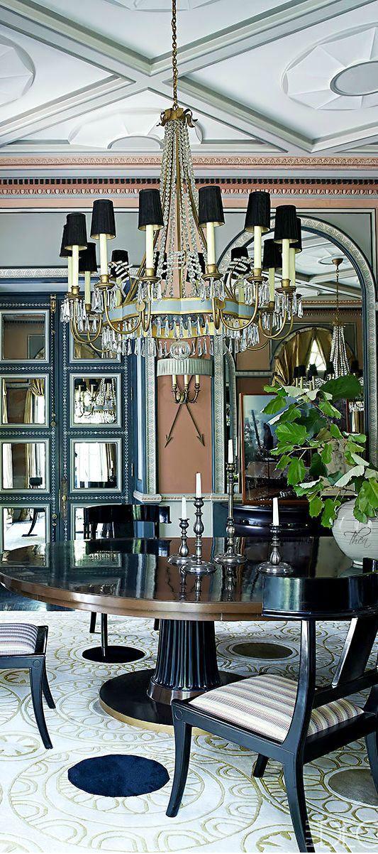 Dining room Luxury  - via  Christina Khandan - Irvine California - www.IrvineHomeBlog.com