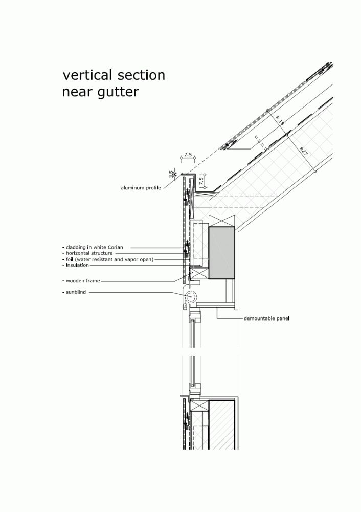 detail / City Hall Harelbeke / Dehullu Architects