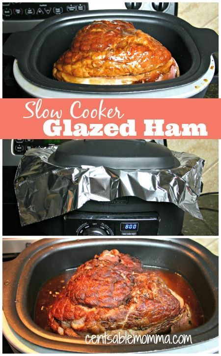 If you're short on prep time and want a moist and delicious ham, why not heat it in your slow cooker.  Find out how I cook my holiday ham in the slow cooker every year for Christmas, New Year's, and Easter - so delicious!