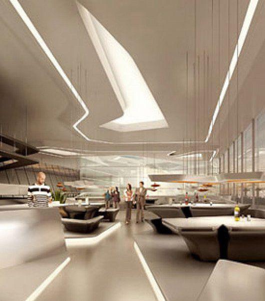 Opus Tower Building Interior Design By Zaha Hadid | Parametric ...