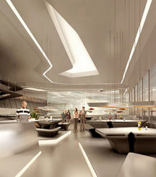 Opus Tower Building Interior Design By Zaha Hadid