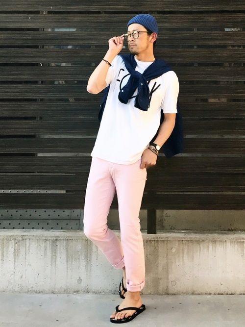 おはようございます   今日もWEGOさんのドラフトコーデです   ピンクパンツ久々に履きました   たまに履くといいかもしれないです   ちょっと気分上がったのでまた今度も履こう♡   脳内カラーはいつでもピンク♡   今日も可愛がって下さい!