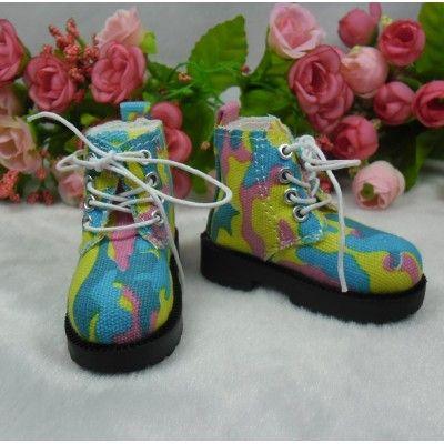 MSD Obitsu 60cm Bjd Doll High Hill Shoes Colorful Sky SHM077CLC