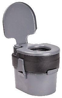 The Flushable-Loo 400 is an innovative flushing portable toilet (patent pending). Unlike conventional flushing portable toilets whose small cap on the holding tank makes it hard to dispose of waste and clean, the unique design of the Flushable Loos holding tank allows for easy access in order to dispose of waste and clean.