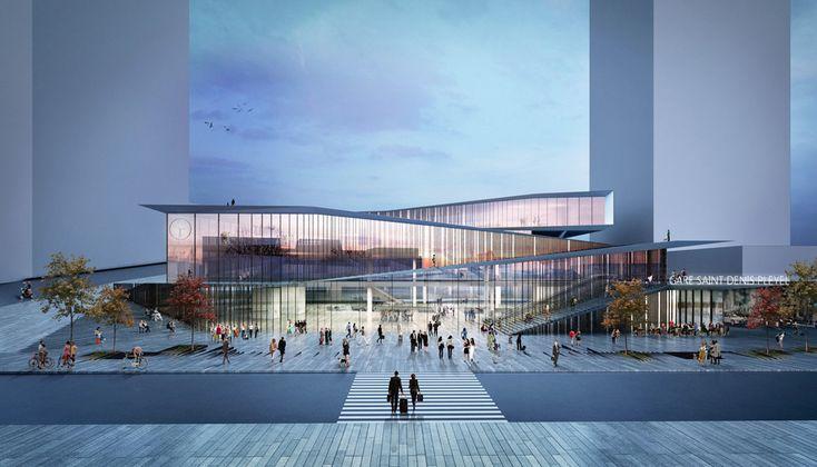 Kengo Kuma, estación Saint-Denis Pleyel de París - Arquitectura Viva · Revistas de Arquitectura
