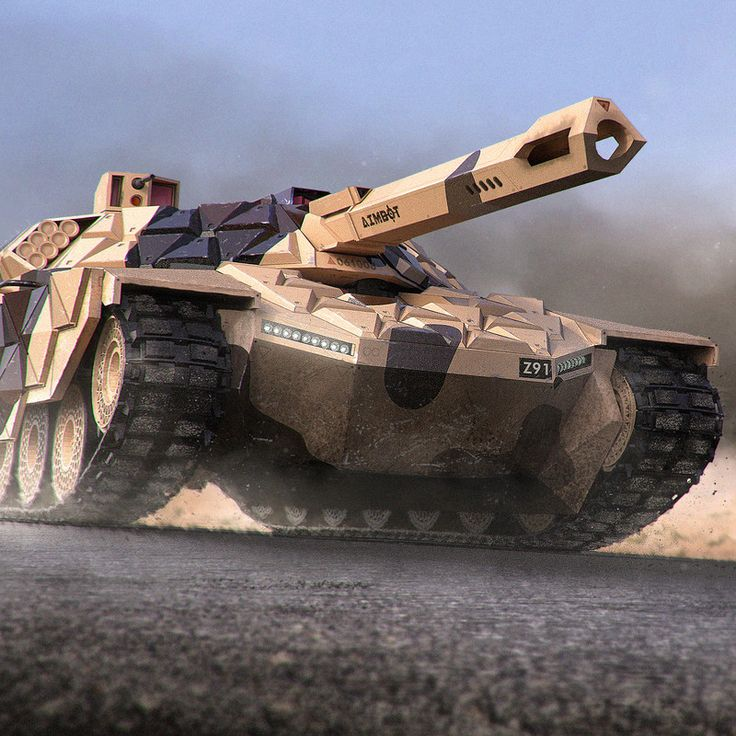 Near future multi purpose MBT.