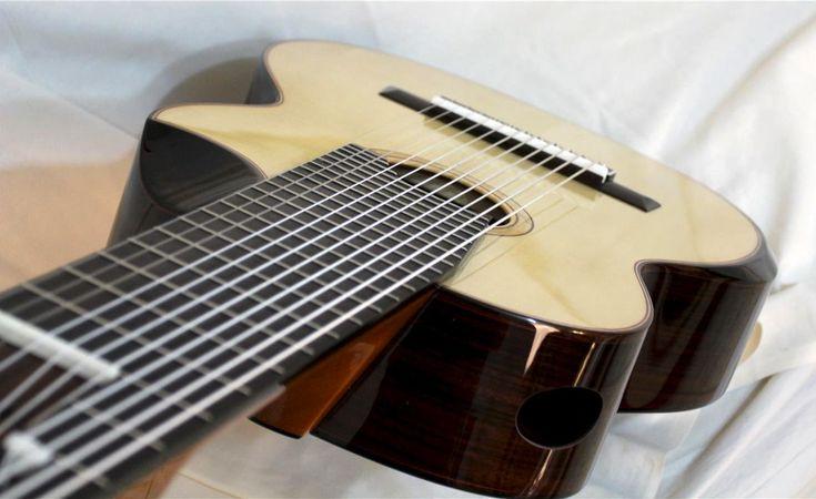 Modern Classical Guitar Design Part 8: Fanned Frets
