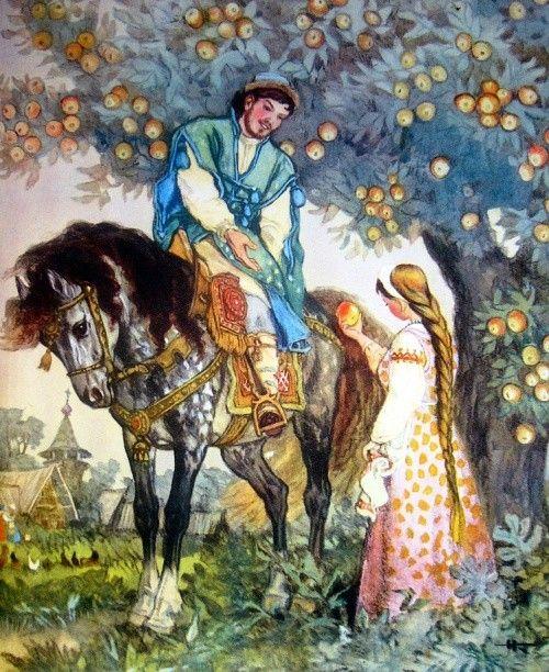 Russian Fairytales by Nikolay Kochergin