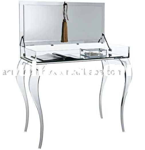 Perspex dressing table
