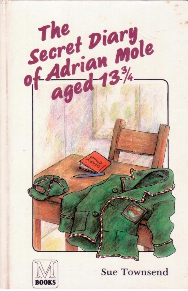 The Secret Diary of Adrian Mole, aged 13 3/4 by Sue Townsend - S/Hand -Hardcover