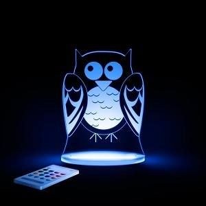 Just have to have one of these colour changing night lights! Gorgeous designs to suit any nursery, bedroom or playroom. #Aloka #nightlight #nurserydecor #sleepingbaby #spunkybubs
