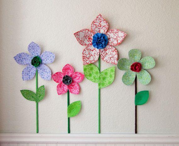 Best 25+ 3d flower wall decor ideas on Pinterest | 3d paper ...