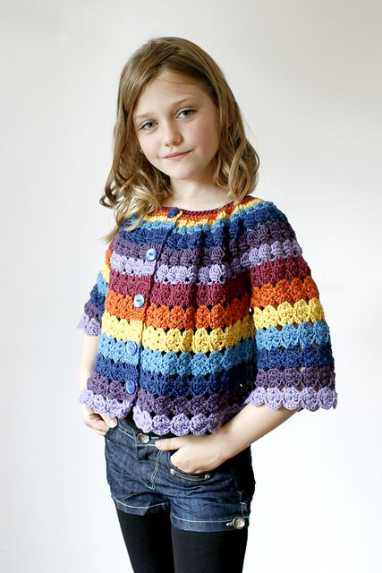 Ravelry: Benday Cardigan pattern by Joanne Scrace