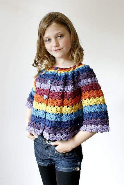 Ravelry: Benday Cardigan pattern by Joanne Scrace