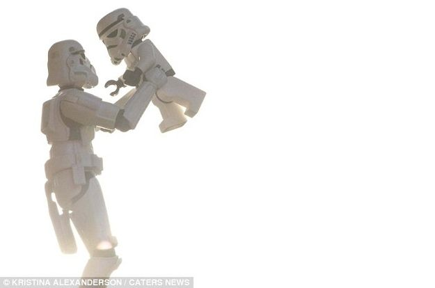 A Storm Trooper's Family Album - I cant even handle it, way too cute!