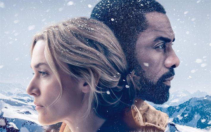 Lataa kuva Vuoren Välillämme, 2017, 4k, Kate Winslet, Idris Elba, Alex Martin