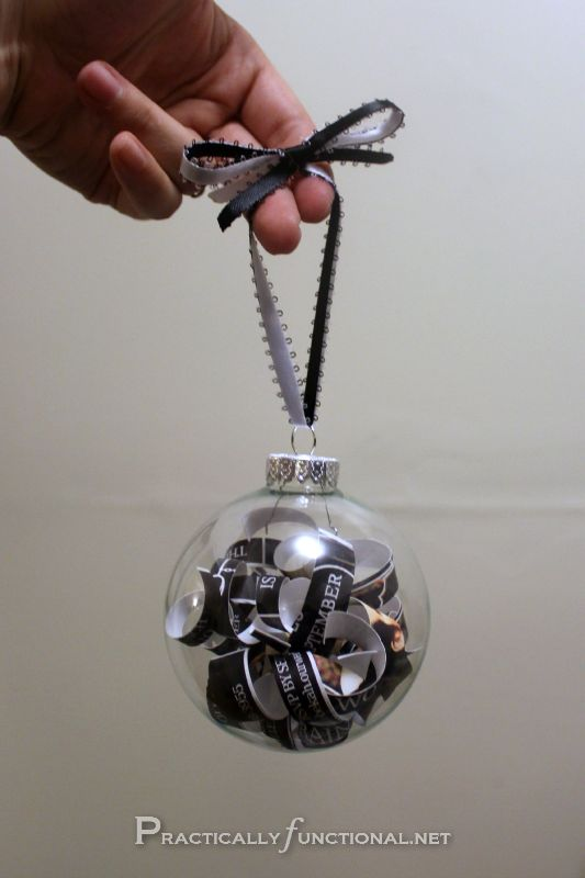 DIY Wedding Invitation Ornaments