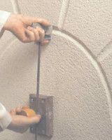 """How to perform architectural grooves """"Ashlar""""cuts finish with Monocouche - Weber"""