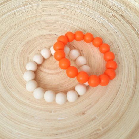 Madison's Marbles Silicone Bangle. Mummy Couture silicon jewellery makes the perfect new mum gift or hard to buy for second time mum gift. Ideal for baby showers, christening presents or just a fabulous way to add some colour to any outfit.  Our silicone jewellery is made from 100% food grade silicone and is gentle on tiny faces and gums. Free from BPA and other nasties, complies with Australian safety standards.