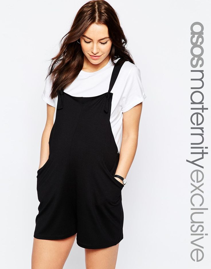 Image 1 of ASOS Maternity Overall Romper