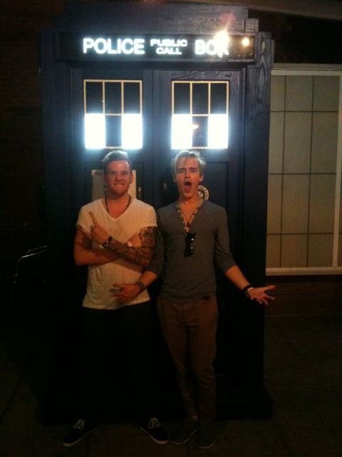 Worth pinning forever!!!!...mcfly and doctor who together!?! MY TWO FAVORITE THINGS IN THE WORLD TOGETHER!!!