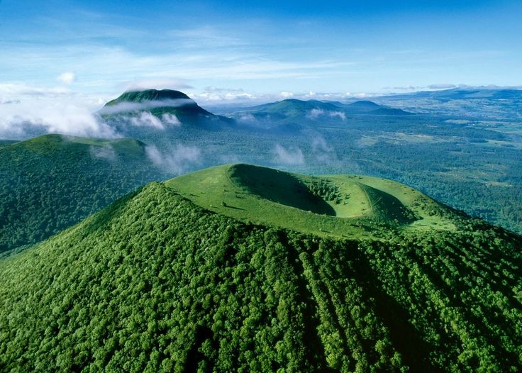 Volcan Auvergne
