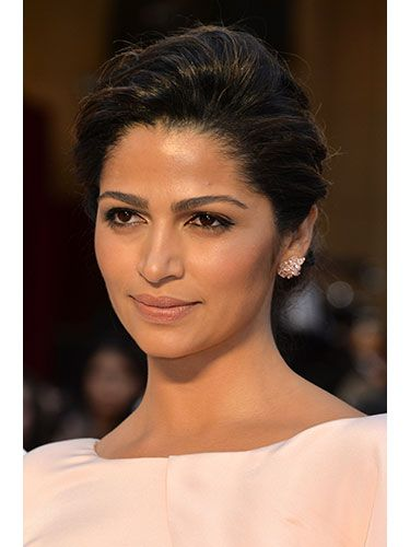 The Best Hairstyles At The 2014 Oscars Camila Alves