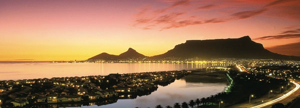 The magical city of Cape Town...