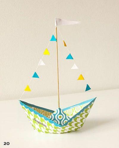 tutorial come fare delle barchette di carta
