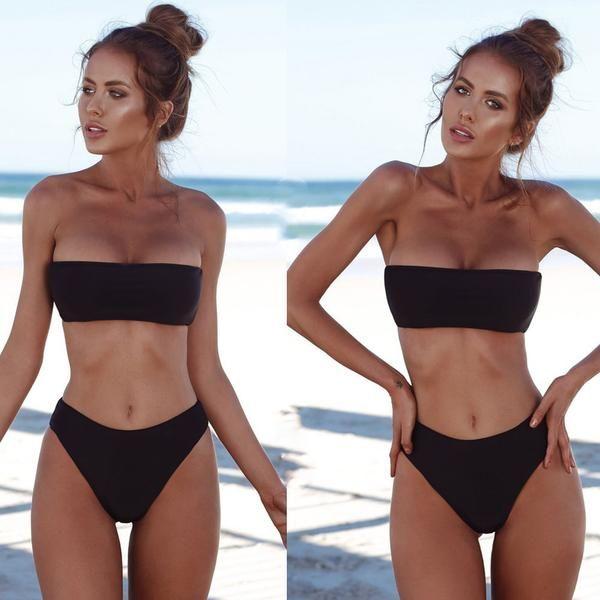 8d215baa57 Women Bandage Push-Up Swimsuit in 2019 | To get | Bikinis, Brazilian ...