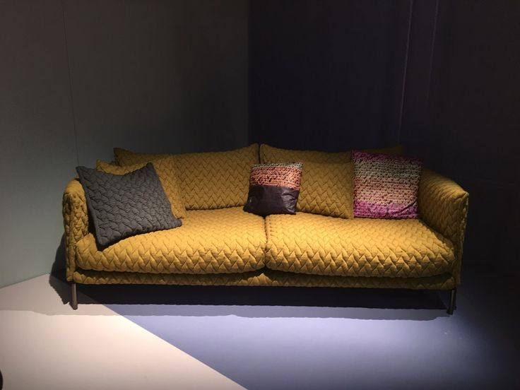 Gentry sofa by Moroso   http://www.malfattistore.it/en/2016/04/malfattistore-milan-design-week-2016/   #malfattistore #interiordesign #onlineshop #italiandesign #modernfurniture #sofa #livingroom