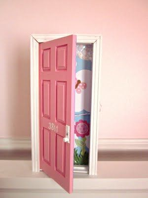 tooth fairy door - so wish I would have known about this last week