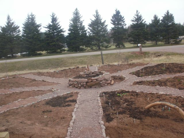 Permaculture - Red Sand Cottage Mandala Garden