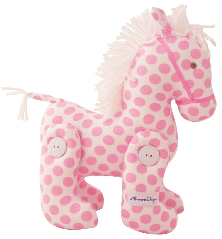 Marshmallow Dot jointed pony available at www.motherbabystore.com.au